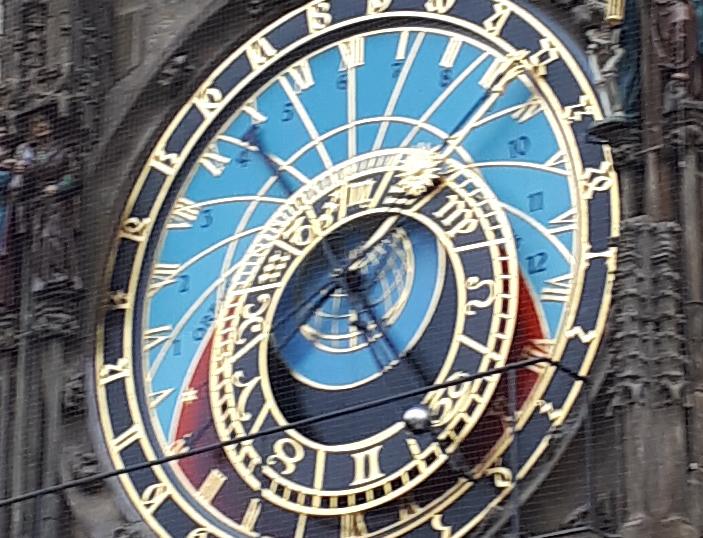 Orloj in Prag